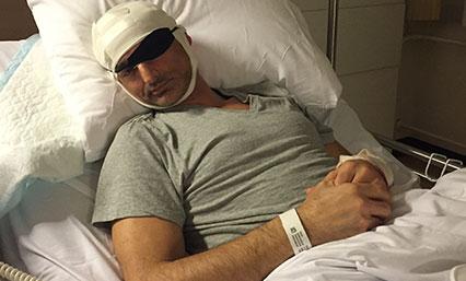 48 uur laten op afdeling neurochirurgie